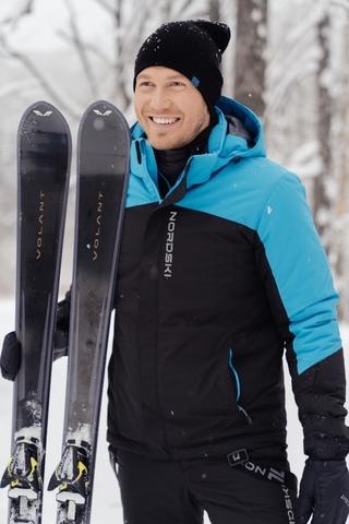 Утепленная куртка Nordski Mount Blue/Black мужская
