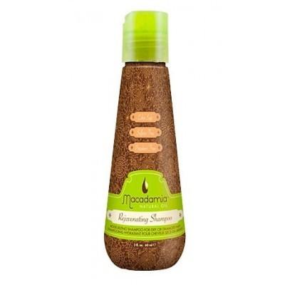 Macadamia Natural Oil: Шампунь восстанавливающий с маслом арганы и макадамии (Rejuvenating Shampoo), 100мл/300мл/1л