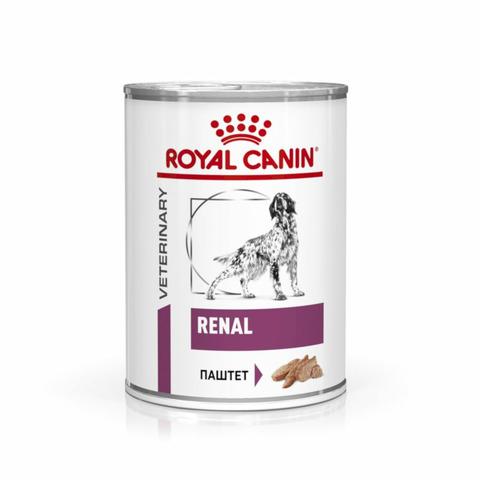 Royal Canin Renal Canine для диетического питания взрослых собак всех пород - 410 гр