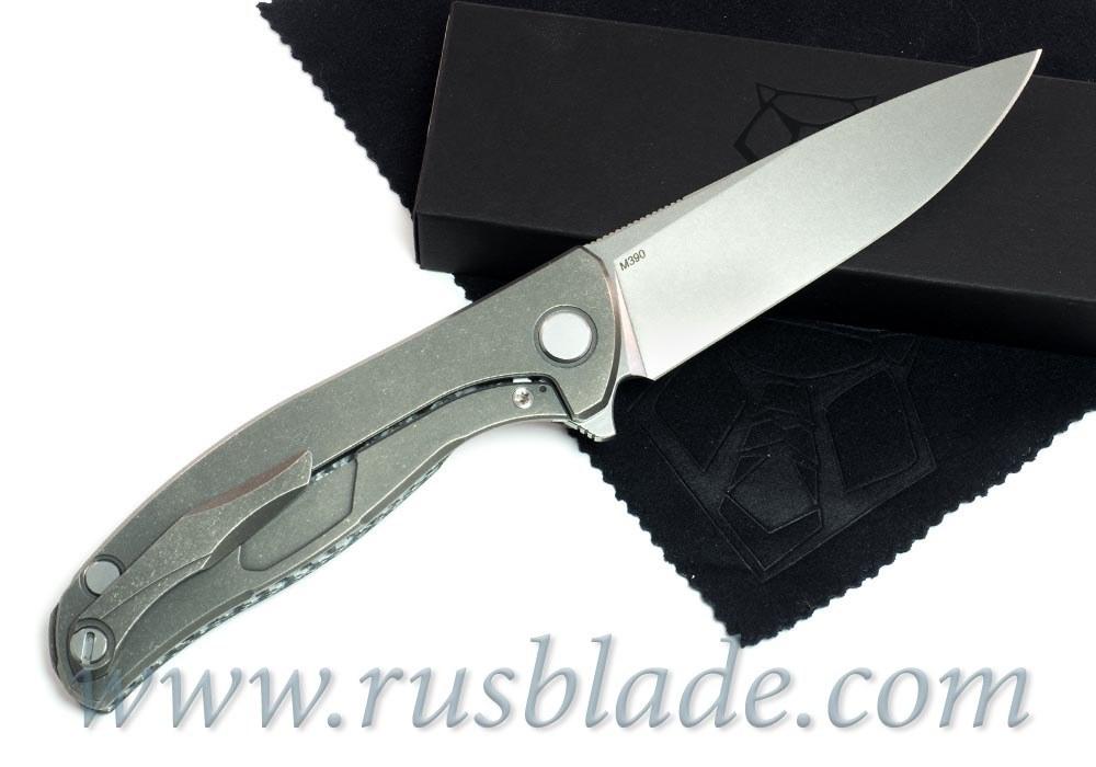 NEW 2017 Shirogorov M390 HATI-R KNIFE MRBS - фотография