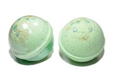 Гейзер (бурлящий шарик) для ванн Новогодний 120g ТМ ChocoLatte