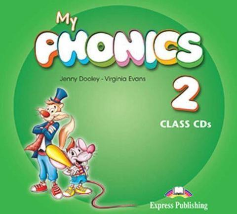 My Phonics 2 Class CD (set of 2) (International). Аудио CD для работы в классе (2 шт).