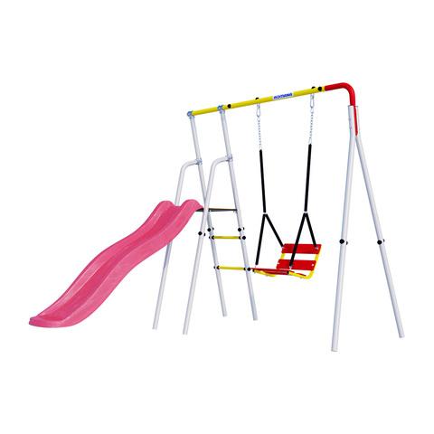 Детский спортивный комплекс для дачи ROMANA Лето (Цепные качели)
