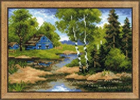 Набор для вышивания крестом «Летний домик» (1113)