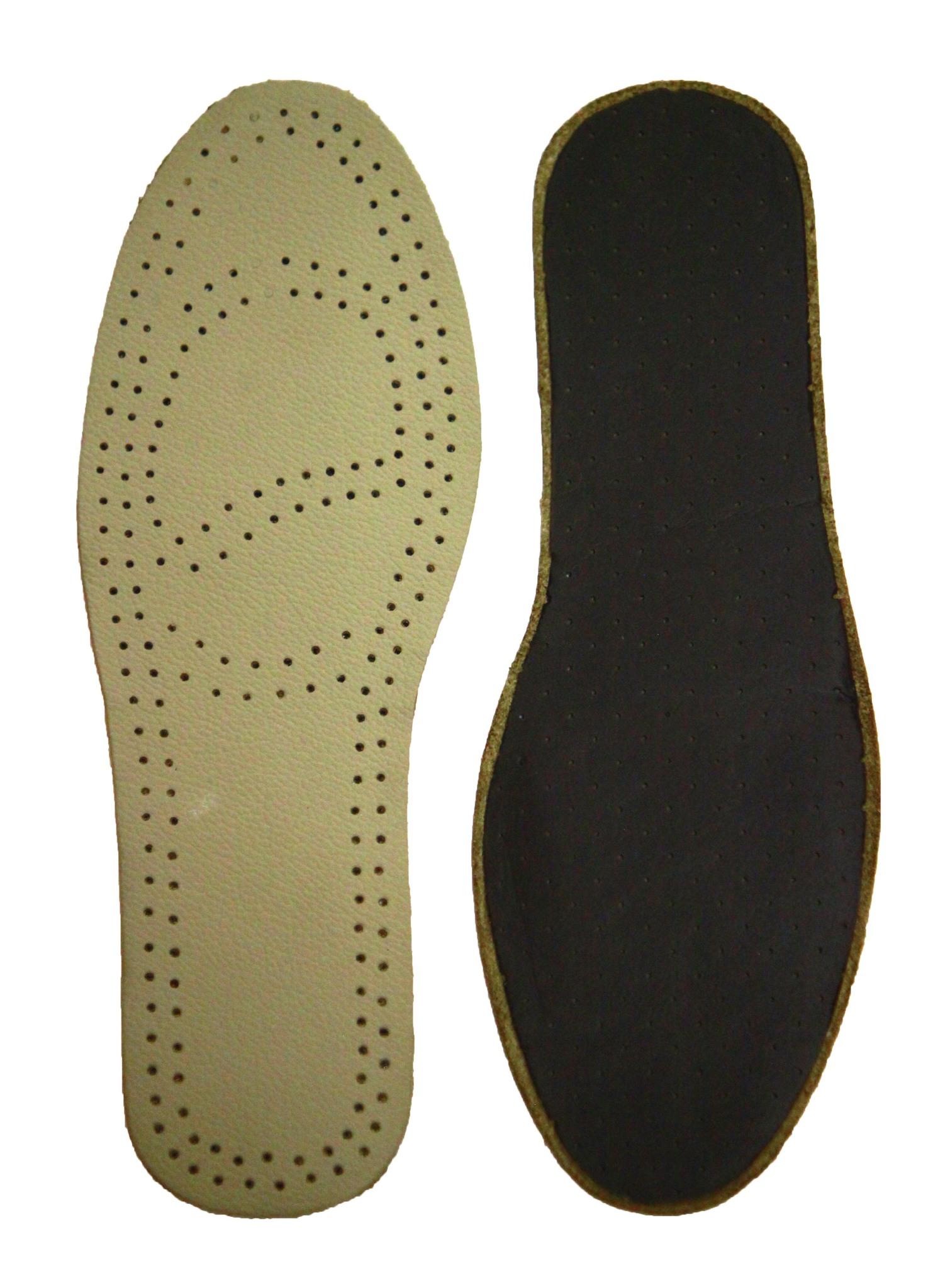 Стельки из натуральной кожи (Черный)