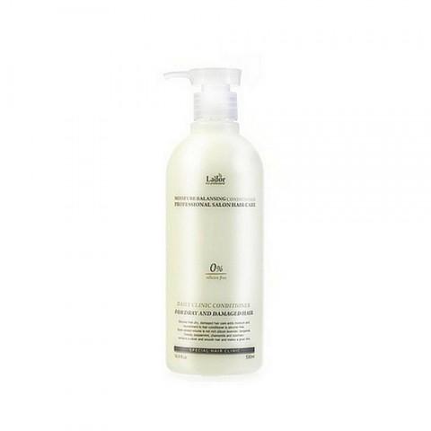 Увлажняющий бессиликоновый кондиционер для волос LADOR MOISTURE BALANCING CONDITIONER (530 ml)