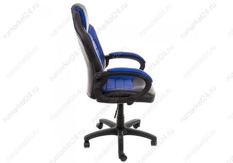 Стул Компьютерное кресло Kadis темно-синее / черное