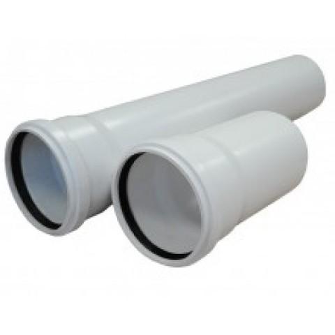 Труба канализационная ф50х500 ПП УЮТ - Контур