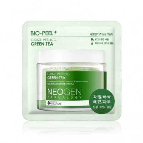 Успокаивающий пилинг-пэд с зеленым чаем 1 шт Neogen Dermatology Bio-Peel Gauze Peeling Green Tea