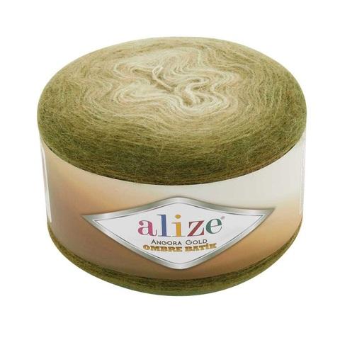 Пряжа Alize Angora Gold Ombre Batik цвет 7355
