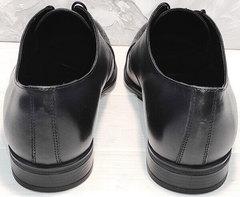 Качественные мужские туфли кожаные Ikoc 2249-1 Black Leather.