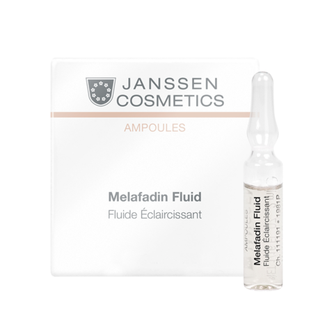 JANSSEN COSMETICS Осветляющие ампулы | Мela-Fadin (skin lightening) 7х2 ml