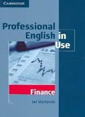 Professional English in Use Finance Book with a...