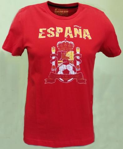 Футболка LOTTO для болельщиков сборной Испании по футболу