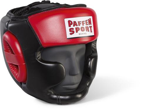 Боксерский шлем с защитой скул и подбородка Paffen Sport