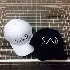 Кепка SAD (Бейсболка) черная