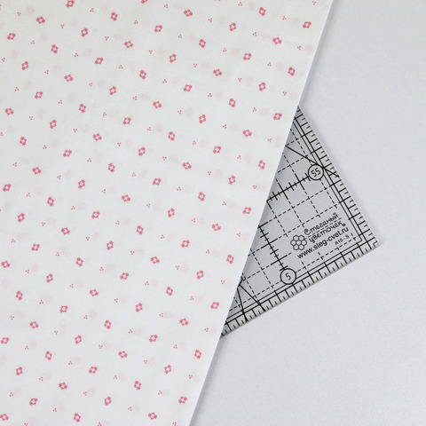 Ткань для пэчворка, хлопок 100% (арт. RK0604)