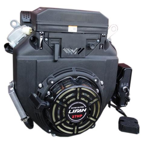 Двигатель Lifan 2V78F-2A PRO 27 л.с, катушка 20А, электростартер