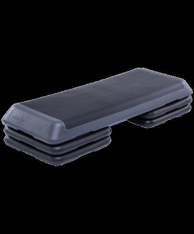 Степ-платформа SP-205 108х41,5х20 см, 3-уровневая, с обрезиненным покрытием