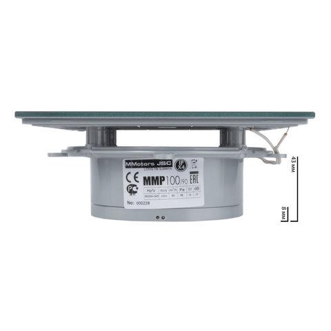 Вентилятор MMotors JSC MMP--90 Стекло/Светло Серый