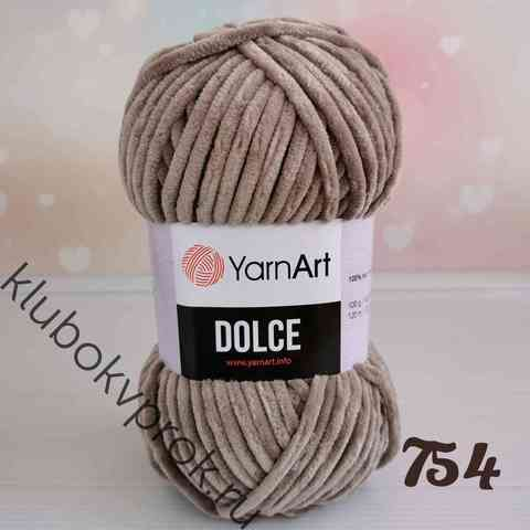 YARNART DOLCE 754, Темный бежевый