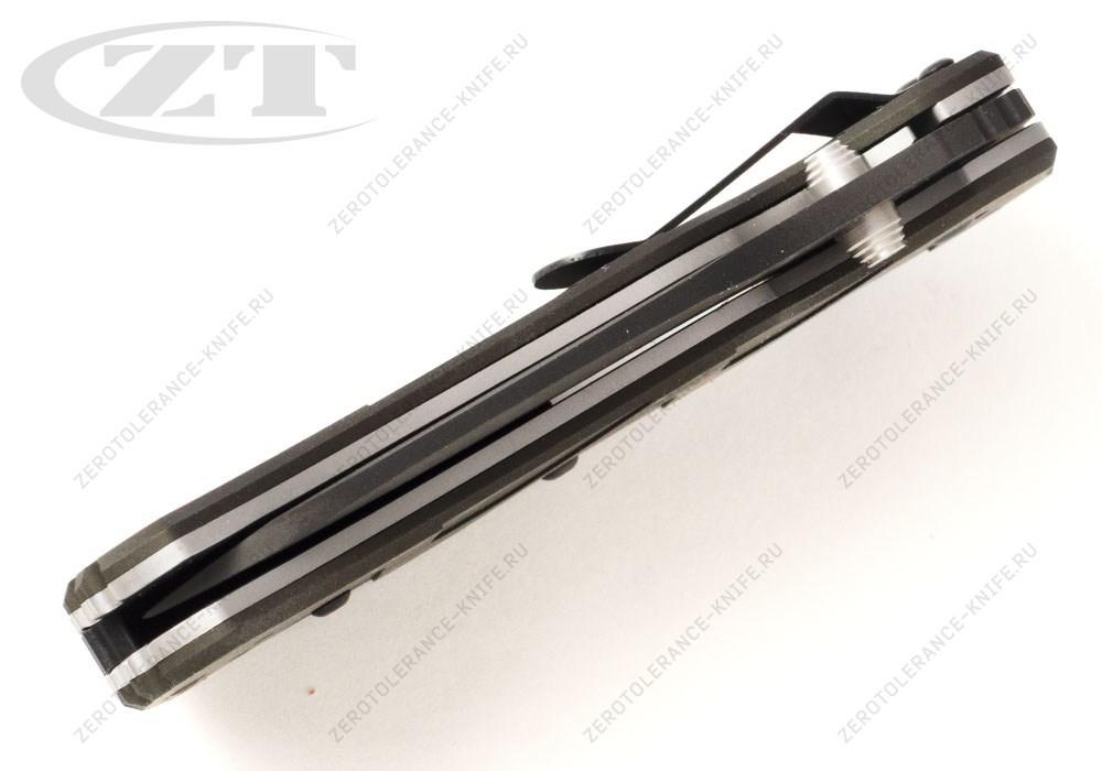 Нож Zero Tolerance 0350GRN Onoin - фотография