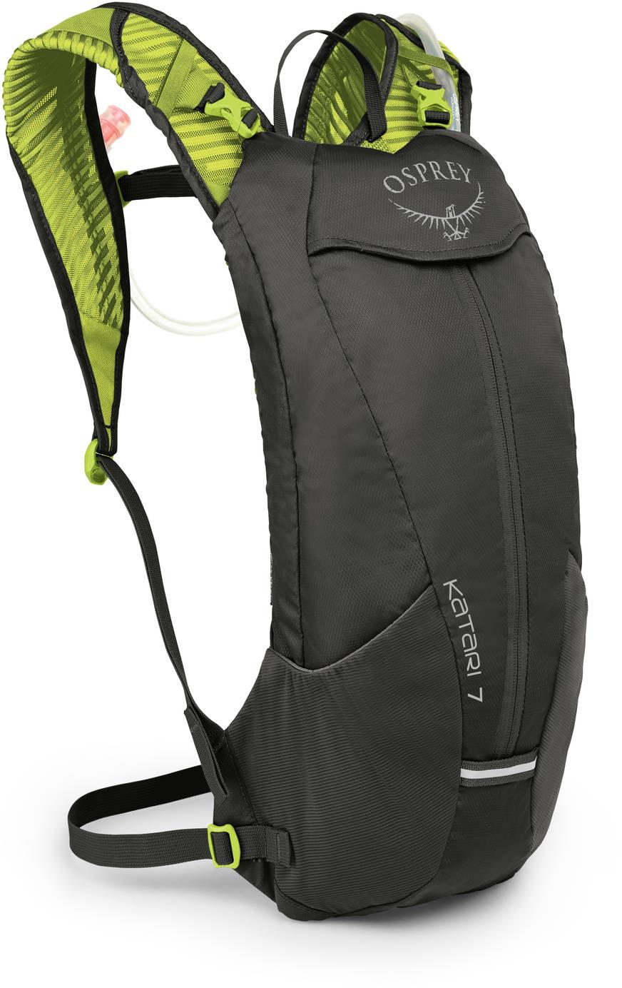 Рюкзаки для бега Рюкзак мультиспортивный Osprey Katari 7 Lime Stone Katari_7_S19_Side_Lime_Stone_web.jpg
