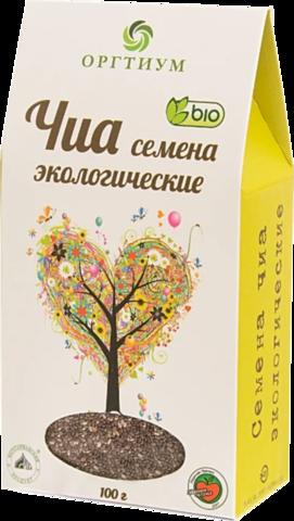 Оргтиум Семена чиа экологические, 100 г