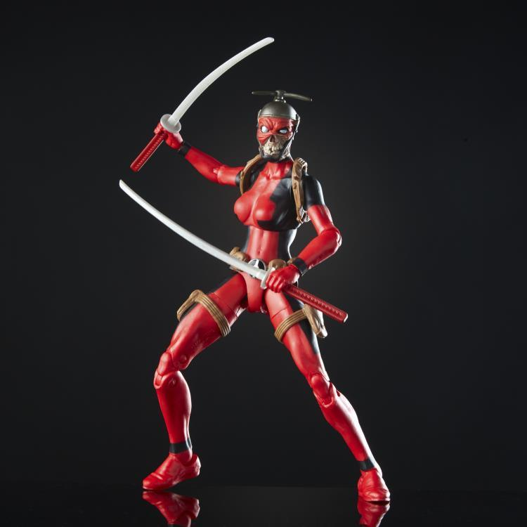 Фигурка Леди Дедпул (Lady Deadpool) Marvel Legends от Hasbro 15 см