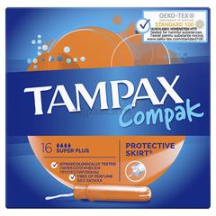 Тампоны Tampax с аппликатором Compak Super 16шт