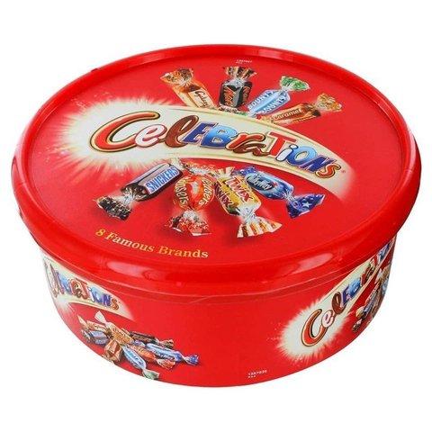Подарочный набор конфет Celebrations 650 гр