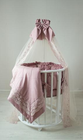 Комплект в круглую/овальную кроватки