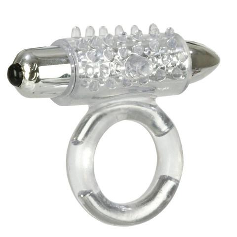 Эрекционное кольцо с вибрацией Support Plus Pleasure Point