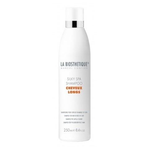 La Biosthetique Cheveux Longs: SPA-шампунь для придания шелковистости длинным волосам (Silky SPA Shampoo), 250мл/450мл