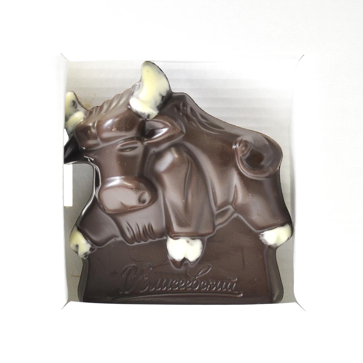 Шоколад фигурный СИМВОЛ ГОДА  100гр  Красный
