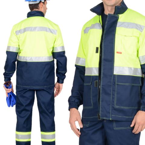 Куртка зеленая сигнальная ТЕРМИНАЛ