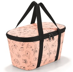 Термосумка детская Coolerbag XS cats and dogs rose Reisenthel