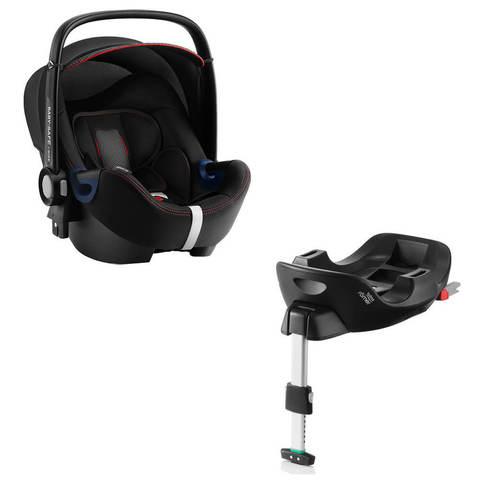 Автокресло Britax Roemer Baby-Safe2 i-Size Cool Flow Black + Base Flex Isofix
