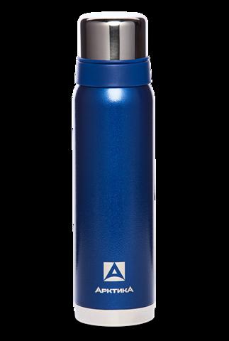 Термос Арктика (106-900 синий) 0,9 литра с узким горлом американский дизайн, синий