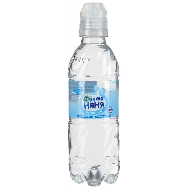 Вода ФРУТО-НЯНЯ НЕ газированная 0,33 л