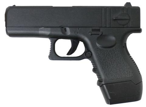 Cтрайкбольный пистолет Galaxy G.16 Glock mini металлический, пружинный