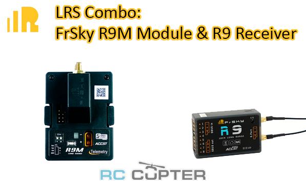 FrSky LRS combo: приёмник FrSky R9 16 Channel ACCT Long Range receiver + модуль FrSky R9M 900Mhz module дальнобойная система управления