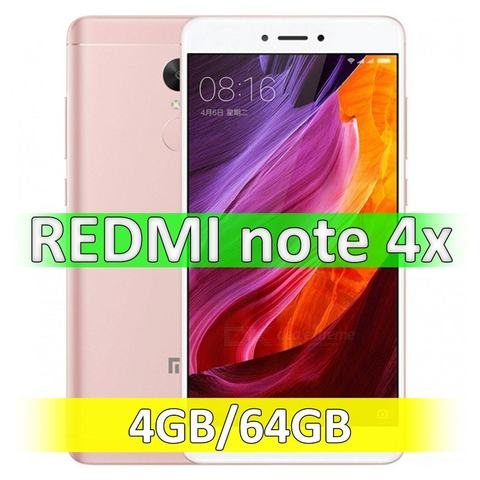 Xiaomi Redmi Note 4X (4-64Gb) Pink
