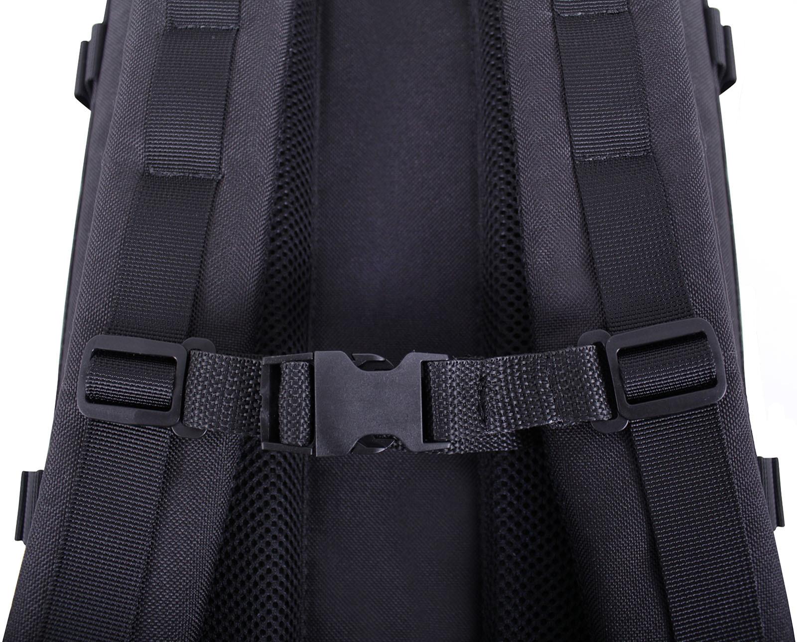Рюкзак для ноутбука Bagland Jasper 19 л. Чёрный (0015566) фото 4