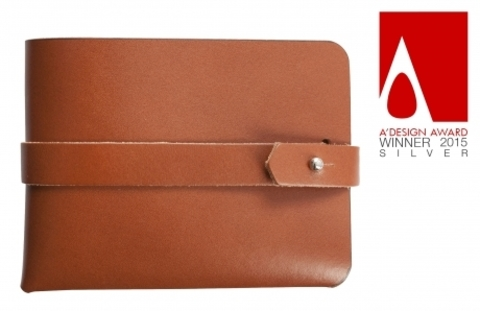 Leaf Wallet, brown