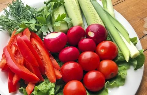 Ассорти из овощей и зелени