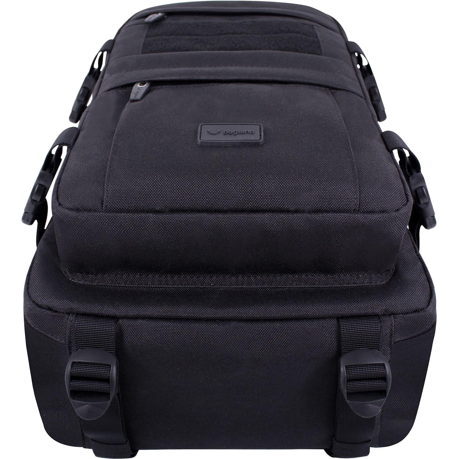 Рюкзак для ноутбука Bagland Jasper 19 л. Чёрный (0015566) фото 5