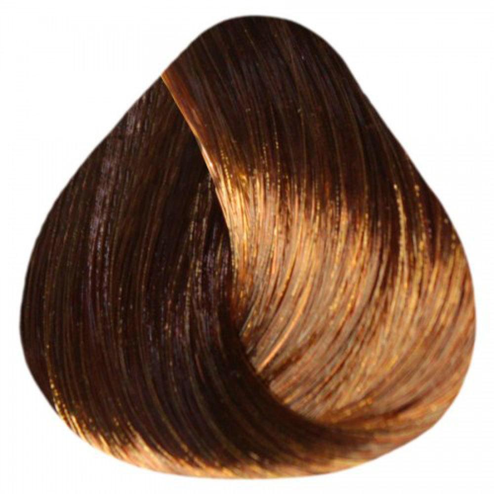 6/74 Темно-русый коричнево-медный - Estel краска-уход De Luxe 60 мл