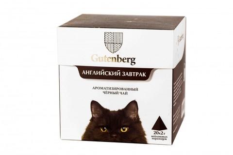 Чай в пирамидках: кошки Английский завтрак ЧАЙ ИП Кавацкая М.А. 20шт/уп