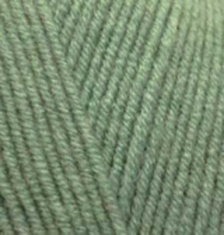 Пряжа Lanagold FINE Alize 180 Серебряная сосна фото